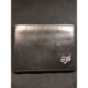 Fox Genuine Leather Bifold Wallet